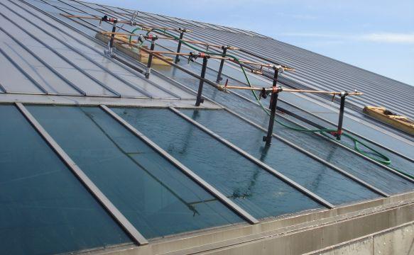 Concourse C Metal Roof Skylight Leak Investigation